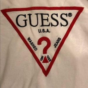 Guess cropped hoodie